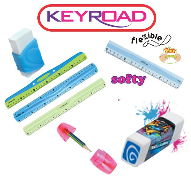 règles gommes taille crayon